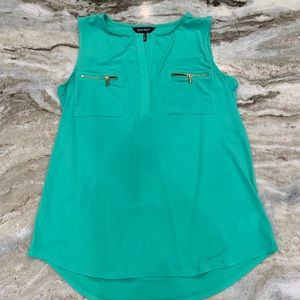 Ellen Tracy Teal green top